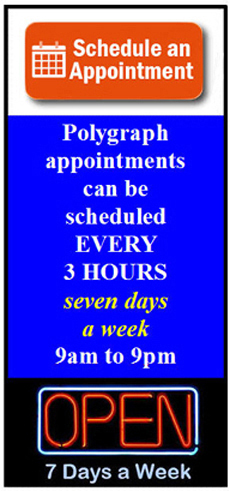 Pomona polygraph appointment